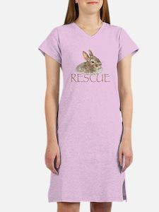 bunny rescue Women's Nightshirt