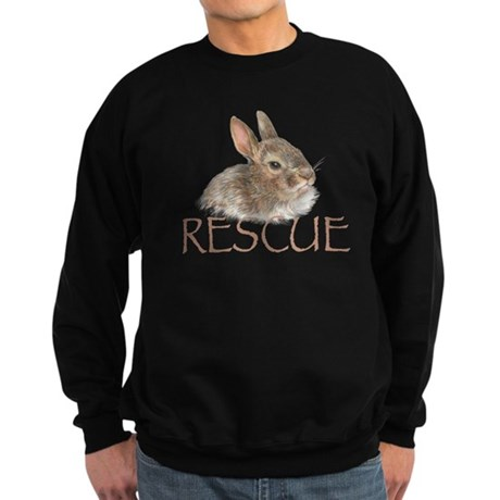 bunny rescue Sweatshirt (dark)