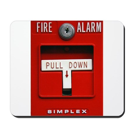 Fire Alarm Iphone Mousepad