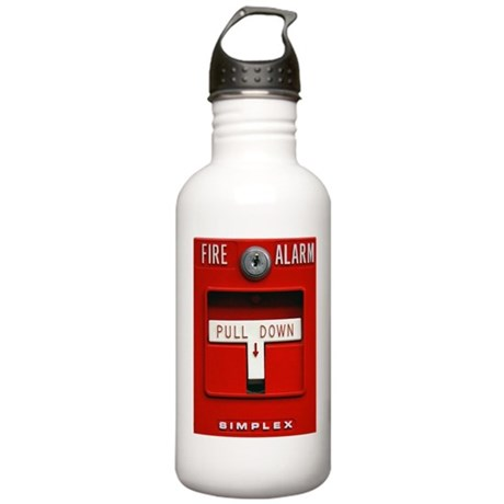 Fire Alarm Iphone Stainless Water Bottle 1.0L