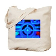 Vintage Cell Phone Lights Iphone Case Tote Bag
