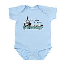 Congressional Gerrymanders Infant Bodysuit