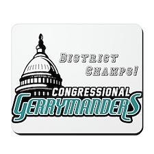 Congressional Gerrymanders Mousepad