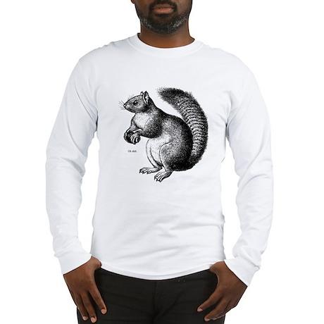 Sarcastic Squirrel Long Sleeve T-Shirt