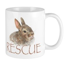 Bunny rabbit rescue Mug