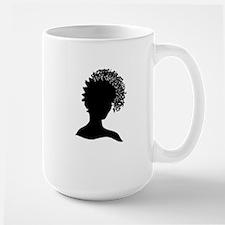 Pretty Girl Loc'd Large Mug