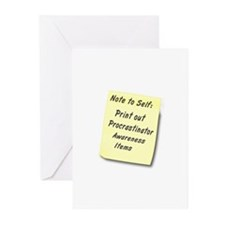 Procrastinators Greeting Cards (Pk of 10)