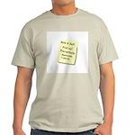 Procrastinators Ash Grey T-Shirt