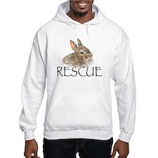 Bunny rabbit rescue Hoodie