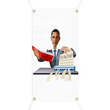 Obama Shredding the Constitution Banner
