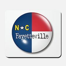 Fayetteville North Carolina Flag Mousepad
