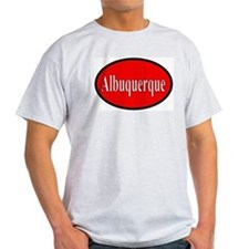 Albuquerque Ash Grey T-Shirt