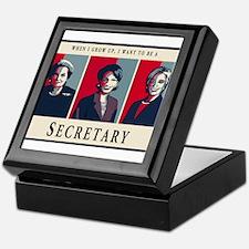 When I Grow Up, I Want to be a Secretary Keepsake