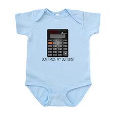 Don't Push My Buttons T-Shirt Infant Bodysuit