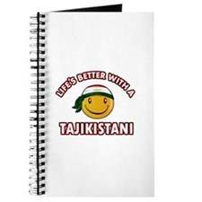 Lifes better with a Tajikistani Journal