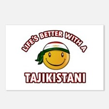 Lifes better with a Tajikistani Postcards (Package
