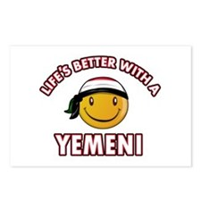 Lifes better with a Yemeni Postcards (Package of 8