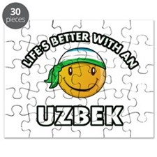 Lifes better with an Uzbek Puzzle