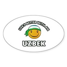 Lifes better with an Uzbek Decal
