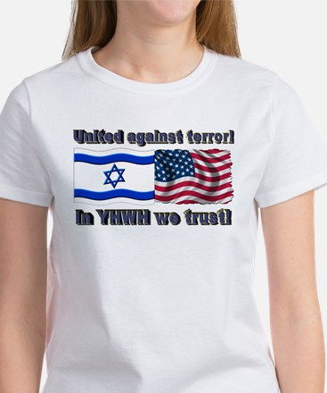 United against terror! Women's T-Shirt