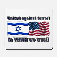 United against terror! Mousepad