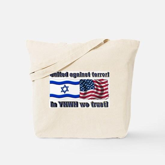 United against terror! Tote Bag