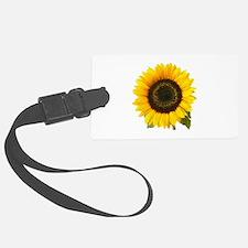 Sunflower Luggage Tag