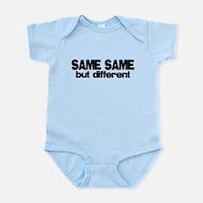Same Same but Different Infant Bodysuit