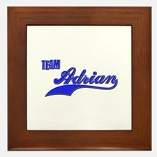 Team Adrian Framed Tile