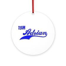 Team Adrian Ornament (Round)