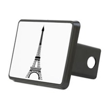 Eiffel Tower Black Hitch Cover