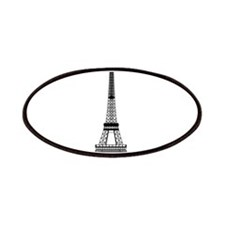 Eiffel Tower Black Patches