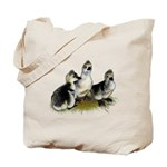 Goslings on Grass Tote Bag