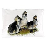Goslings on Grass Pillow Case