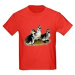 Goslings on Grass Kids Dark T-Shirt