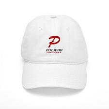 Pulaski Football Baseball Cap