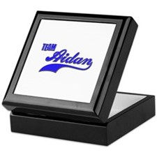 Team Aidan Keepsake Box