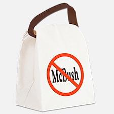 McBush01.png Canvas Lunch Bag