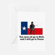 Crockett Quote Greeting Cards (Pk of 10)