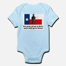 Crockett Quote Infant Creeper