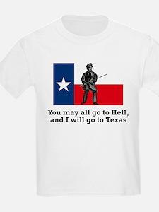 Crockett Quote Kids T-Shirt