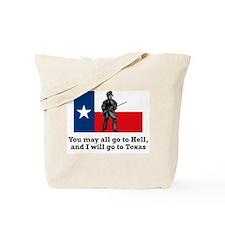 Crockett Quote Tote Bag