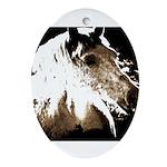 Pony Love.jpg Ornament (Oval)