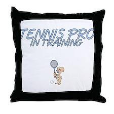 Tennis Pro Throw Pillow