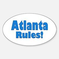 Atlanta Rules! Oval Decal