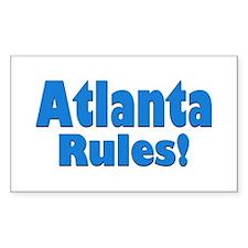 Atlanta Rules! Rectangle Decal