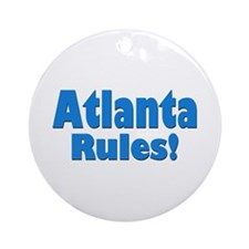 Atlanta Rules! Ornament (Round)