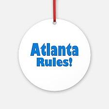 Atlanta Rules! Ornament (Round)