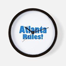 Atlanta Rules! Wall Clock