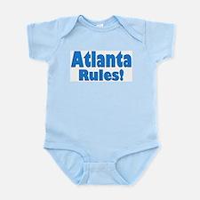 Atlanta Rules! Infant Creeper